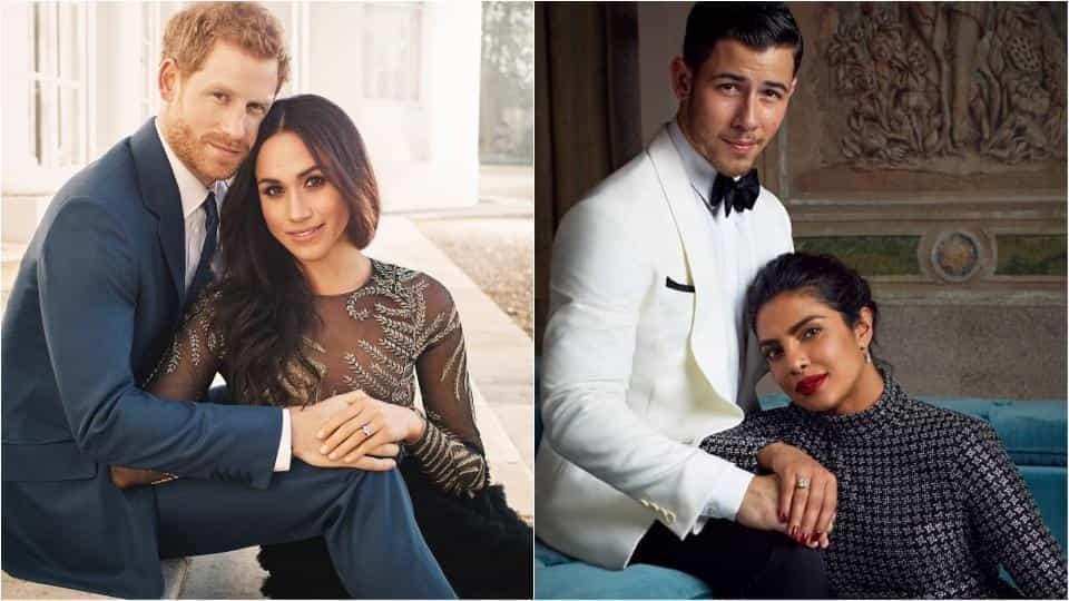 Priyanka Chopra Has Recreated The Engagement Photos Of The Duke And Duchess Of Sussex With Her Fiance Nick Jonas