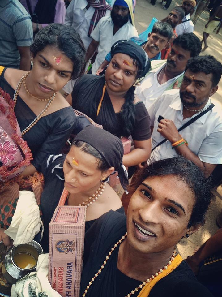 4 Transgender offered prayers in Sabarimala Temple