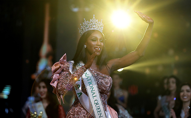 American beauty Jazell Barbie Royale crowned as Miss International